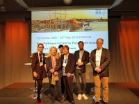 Prof. Karin Wolf-Ostermann and Henrik Wiegelmann successfully took part in IAGG - ERC 2019 (International Association of Gerontology and Geriatrics- European Region Congress 2019).