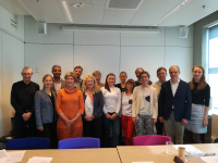 Prof. Karin Wolf-Ostermann and Prof. Ansgar Gerhardus from IPP at the Kick-off Meeting of SHARED in Rotterdam